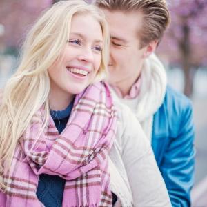 Kungsträdgården, körsbärsblommor, rosa, Stockholm, fotografering